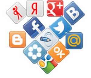 Установка кнопок  социальных сетей методом плагина