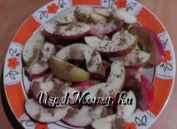 Рецепт вкусной пышной шарлотки