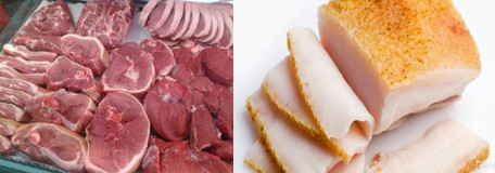 Питание мясом и салом разрыхляет кости человека